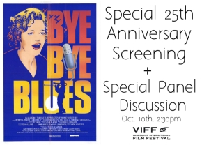 Bye Bye Blues Special Screening & Panel Discussion