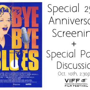 Bye Bye Blues Special Screening & PanelDiscussion