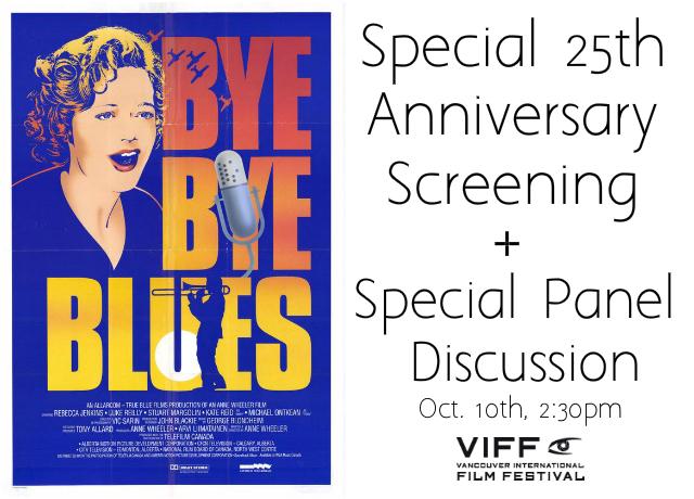 bye bye blues screening