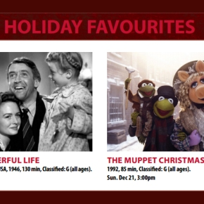 Holiday Programming at Vancity Theatre