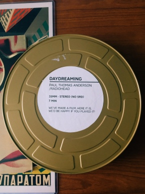"Radiohead sent us a 35mm print of ""Daydreaming"""