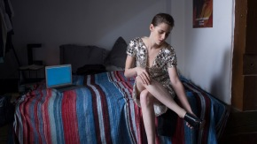 Kristen Stewart and the Beyond in Personal Shopper