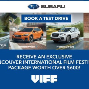 Test Drive a Subaru and Receive an Exclusive VIFF 2019 Festival Package!